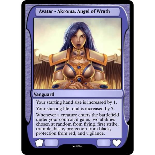 Bilde av Akroma, Angel of Wrath Avatar
